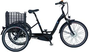 Prophete CARGO E-Bike 3R E-Dreirad 26'/24' Elektrofahrrad 36V Senioren E Bike