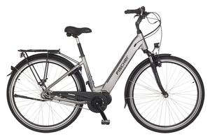 Fischer City-E-Bike CITA 4.0i, 28 Zoll, quarzgrau matt