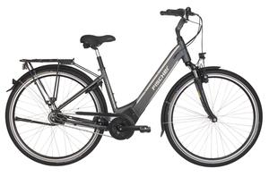 Fischer City-E-Bike CITA 5.0i, 28 Zoll, schiefergrau matt