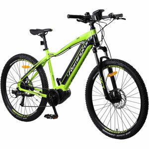 Remington MX Pro 650B 27,5 Zoll MTB E-Bike Mountainbike Pedelec Mittelmotor, Farbe:grün