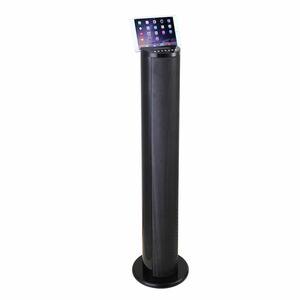Lenco Bluetooth-Lautsprecher BTL-450, Discolicht in 8 Farben, Farbe: Schwarz