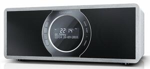 Sharp DR-S460 Digital Radio, Stereo DAB / DAB+ / Bluetooth, 30 W in grau