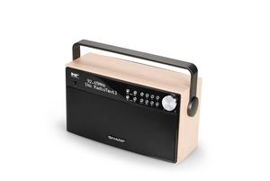 Sharp DR-P355 tragbares Radio, DAB / DAB+ / FM Radio / Bluetooth, 12 W
