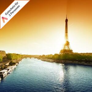 Kurzreise Paris West 3 Tage für 2 Personen Komfort Hotel Le Dauphin Gutschein mit Frühstück