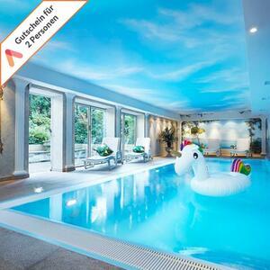 Kurzreise Berlin 3 Tage im 4 Sterne Wellness Hotel Villa Kastania Gutschein für 2 Personen mit  Sauna,Schwimmbad und Fitnessbereich