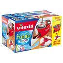 Bild 3 von Vileda Wischmop-Set Turbo Easy Wring & Clean incl. Powerschleuder und Fußpedal, Farbe Grün