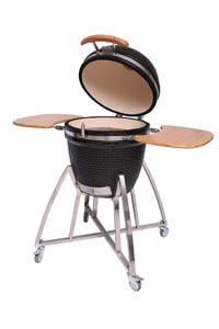 Silvertree Keramik-Kugelgrill Knoxville Kamado 140 x 130 x 83 cm