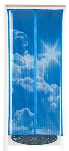 Maxxworld Moskitonetz mit Magneten Tür MagicKlick Himmelmotiv Insektenschutz Fliegengitter