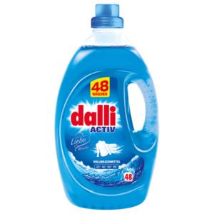 Dalli Vollwaschmittel Activ Meeres-Frische 48WL, 3,6l