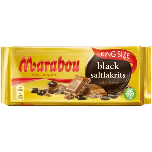 Marabou Tafel Salzlakritz 220g