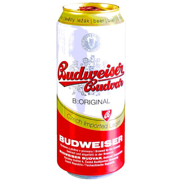 Budweiser Budvar Imported Lager 0,5l