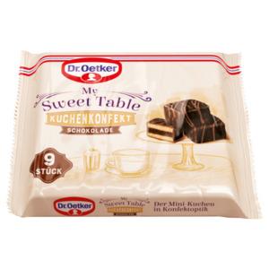 Dr. Oetker My Sweet Table Kuchenkonfekt Schokolade 135g