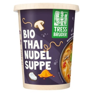 Tress Brüder Bio Thai Nudel Suppe 450g