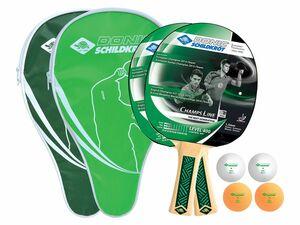 Donic-Schildkröt Tischtennisset Champs 400 Cover für 2 Spieler