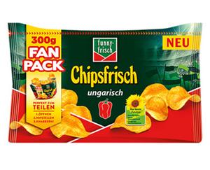 funny-frisch Chipsfrisch ungarisch, Fan Pack