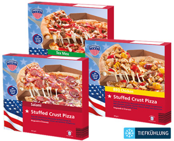AMERICAN Pizza Stuffed Crust