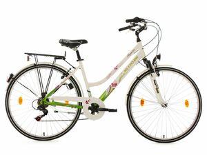 KS Cycling Cityrad 6 Gänge Damenfahrrad Papilio Alu-Rahmen 28 Zoll