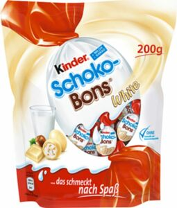 Ferrero Kinder Schokobons White 200 g