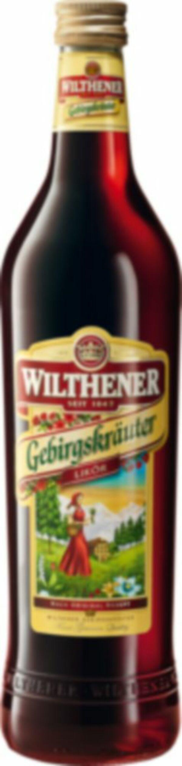 Wilthener Gebirgskräuter 0,7 Liter