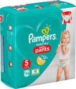 Pampers BabyDry Pants 26er Gr.5 26 Stück
