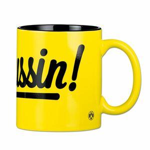 BVB Kaffeebecher Borussin 350ml gelb/schwarz