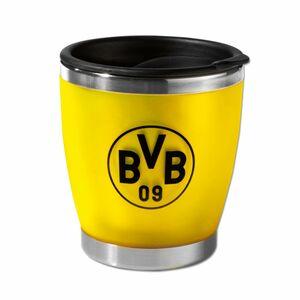 BVB Thermobecher to go gelb/schwarz mit Logo