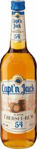 Capt´n Jack Übersee Rum 54% Vol. 0,7L