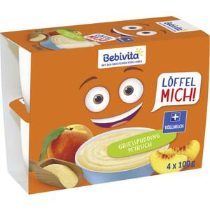 Bebivita Löffel mich! Griesspudding Pfirsich 0.35 EUR/100 g