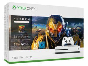 Microsoft Xbox One S 1TB Anthem Bundle