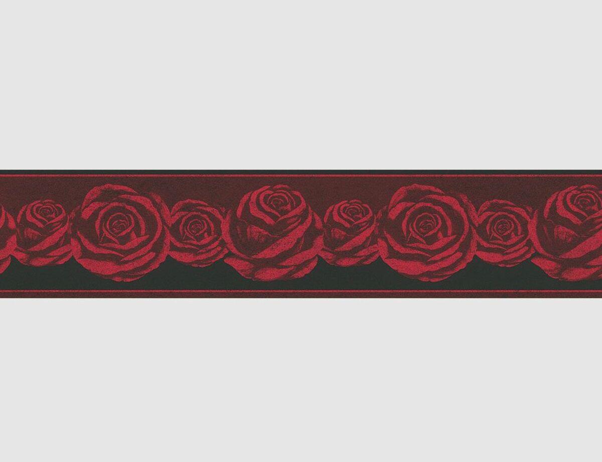 Bild 1 von Tapetenborte Rosen
