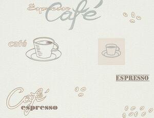 Vinyltapete Kaffeezeit