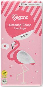 Bio Veganz Almond Choc Flamingo 80 g