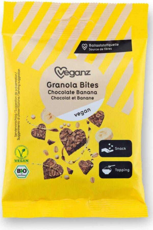 Bio Veganz Granola Bites Choco Banane 50 g