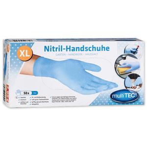 Multitec Nitril-Einweghandschuhe 200er