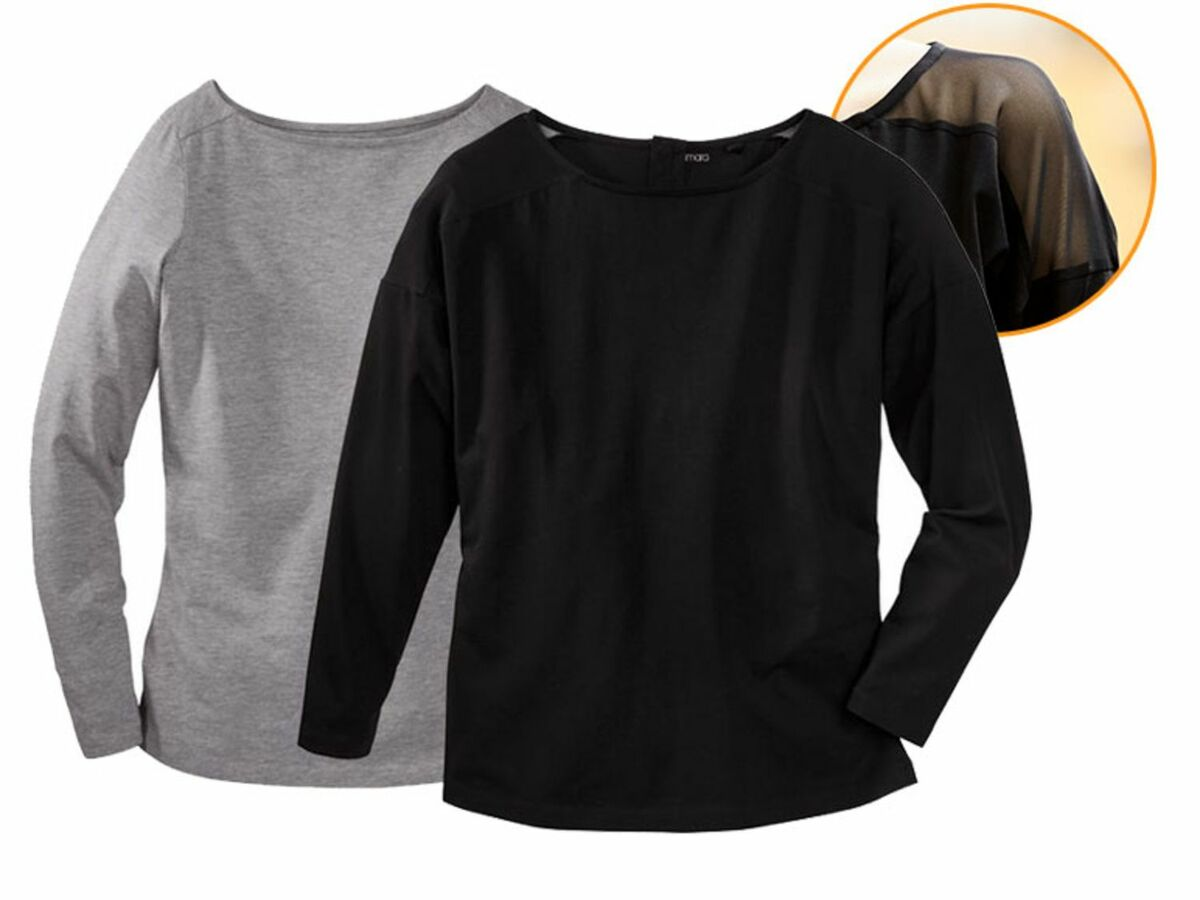 Bild 1 von ESMARA® 2 Damen Langarmshirts