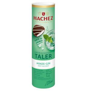 HACHEZ             Erfrischende Taler Pfefferminz-Gin, mit Alkohol 85g