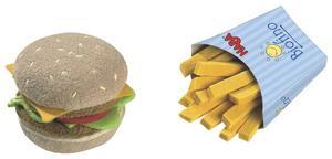 HABA Hamburger mit Pommes