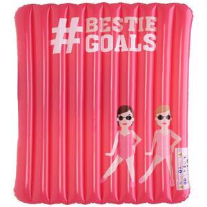 Luftmatratze Hashtag Pink