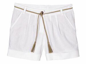 ESMARA® Damen Leinen-Shorts
