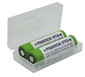 Lithium Einzelzelle 18650 mit 3000mAh und 3,7 Volt 2er Set + Ladegerät für Lithium Ionen Akkus