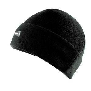 Fleecemütze mit Krempe, Farbe schwarz, Einheitsgröße