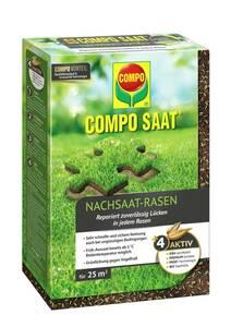 Nachsaat Rasen - 500 g, für 25 m² Compo