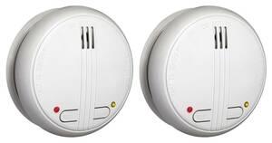 Funk-Rauchmelder, koppelbar- 2 Stück Smartwares®