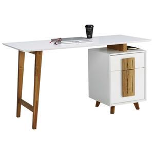 Schreibtisch In Metall Holzwerkstoff 120 75 55 Cm Online Kaufen Xxxlutz