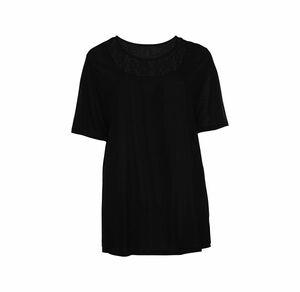 Laura Torelli plus (Gr. 44-58) Damen-T-Shirt mit eleganter Spitze, große Größen