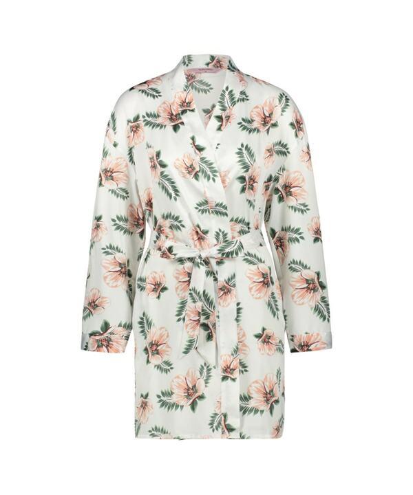 Hunkemöller Kimono Satin Bridal Rosa