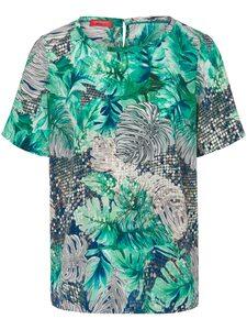 Blusen-Shirt aus 100% Seide Laura Biagiotti Donna mehrfarbig