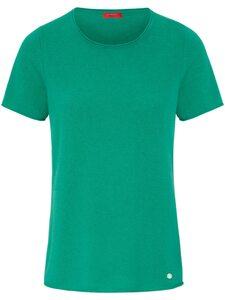 Rundhals-Pullover aus 100% Kaschmir Laura Biagiotti Donna grün