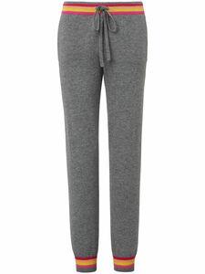 Strick-Jogg-Pants aus 100% Kaschmir FLUFFY EARS grau