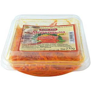 Möhrensalat nach koreanischer Art mild